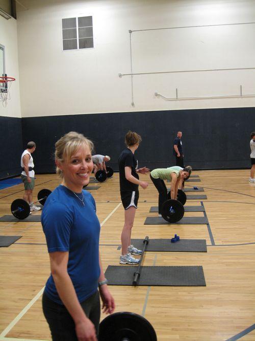 Jilly-Jill getting ready to crush it.